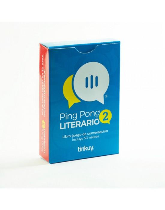 Ping Pong Literario 2 -  Libro Juego de conversación