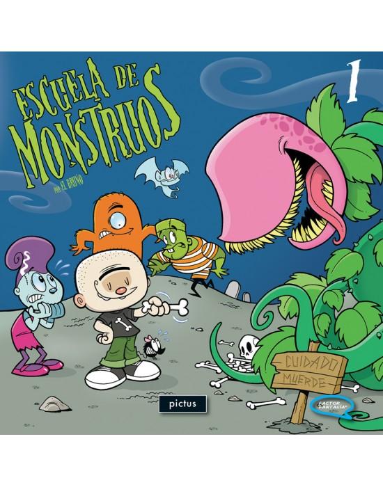 Escuela de Monstruos. Vol  1
