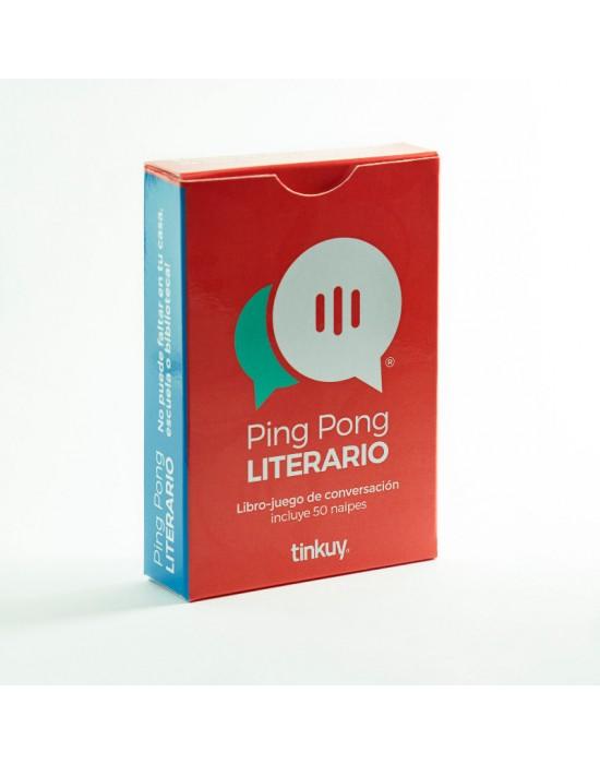 Ping Pong Literario 1 -  Libro Juego de conversación