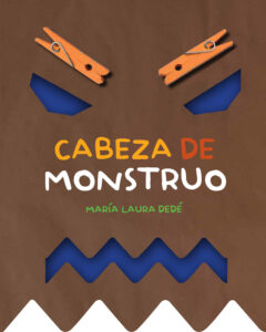 Cabeza de monstruo | Brujita de Papel