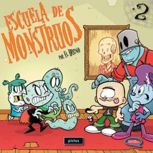 Escuela de monstruos Vol 2 - Pictus
