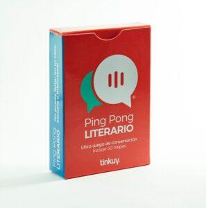Ping Pong Literario 1 – Libro Juego de conversación - Tinkuy
