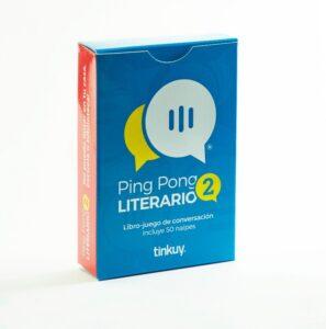 Ping Pong Literario 2 – Libro Juego de conversación - Tinkuy