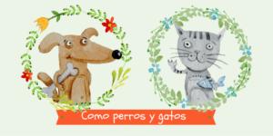 Como perros y gatos: libros ilustrados | Libros infantiles