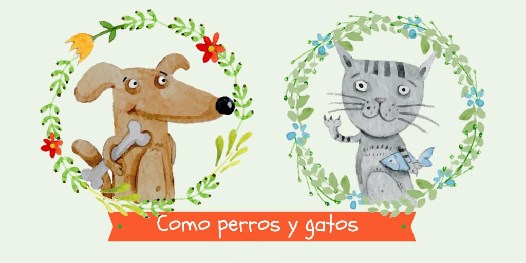 Como perros y gatos: libros ilustrados | Los Libros de Claudia