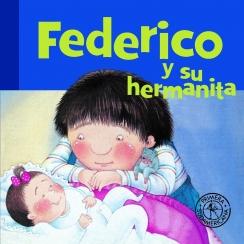 Federico y su hermanita |
